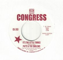 Patti & The Emblems - It's The Little Things Sissie Houston - Bring Him Back
